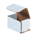 "3"" x 2"" x 2"" White Corrugated Mailers 50/Bundle"