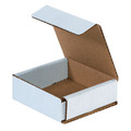 "3"" x 3"" x 1"" White Corrugated Mailers 50/Bundle"