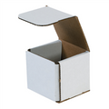 "3"" x 3"" x 3"" White Corrugated Mailers 50/Bundle"
