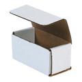 "4"" x 2"" x 2"" White Corrugated Mailers 50/Bundle"