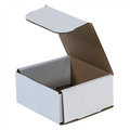 "4"" x 4"" x 2"" White Corrugated Mailers 50/Bundle"