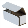 "5"" x 2"" x 2"" White Corrugated Mailers 50/Bundle"