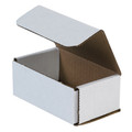 "5"" x 3"" x 2"" White Corrugated Mailers 50/Bundle"