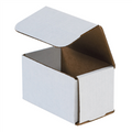 "5"" x 3"" x 3"" White Corrugated Mailers 50/Bundle"