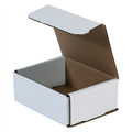 "5"" x 4"" x 2"" White Corrugated Mailers 50/Bundle"