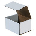 "5"" x 4"" x 3"" White Corrugated Mailers 50/Bundle"