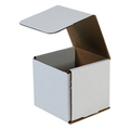 "5"" x 5"" x 4"" White Corrugated Mailers 50/Bundle"