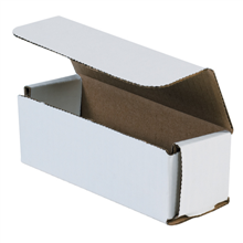 "6"" x 2"" x 2"" White Corrugated Mailers 50/Bundle"