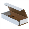 "6"" x 2 1/2"" x 1"" White Corrugated Mailers 50/Bundle"
