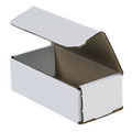 "6"" x 3"" x 2"" White Corrugated Mailers 50/Bundle"