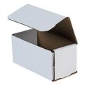 "6"" x 3"" x 3"" White Corrugated Mailers 50/Bundle"