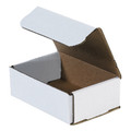 "6"" x 4"" x 2"" White Corrugated Mailers 50/Bundle"