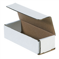 "6 1/2"" x 2 1/2"" x 1 3/4"" White Corrugated Mailers 50/Bundle"