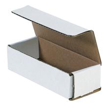 "6 1/2"" x 2 1/2"" x 1 3/4"" White Corrugated Mailers 50/Bundle"