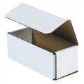 "6 1/2"" x 2 3/4"" x 2 1/2"" White Corrugated Mailers 50/Bundle"