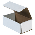 "6 1/2"" x 3 5/8"" x 2 1/2"" White Corrugated Mailers 50/Bundle"