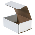 "6 1/2"" x 4 7/8"" x 2 5/8"" White Corrugated Mailers 50/Bundle"
