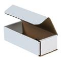 "7"" x 3"" x 2"" White Corrugated Mailers 50/Bundle"