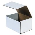 "7"" x 5"" x 4"" White Corrugated Mailers 50/Bundle"