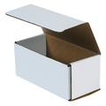 "7 1/2"" x 3 1/2"" x 3 1/4"" White Corrugated Mailers 50/Bundle"