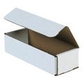 "8"" x 3"" x 2"" White Corrugated Mailers 50/Bundle"