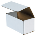 "8"" x 4"" x 4"" White Corrugated Mailers 50/Bundle"