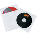 "4 7/8"" x 5"" Tyvek® Windowed CD Sleeves 500/Case"