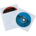 "4 7/8"" x 5"" Paper Windowed CD Sleeves 500/Case"