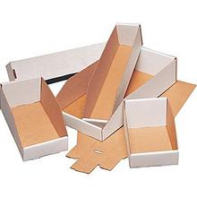 "2"" x 12"" x 4 1/2"" Open Top Bin Boxes - Fits 12"" Shelf"