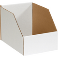 "8"" x 12"" x 8""  Jumbo Open Top Bin Boxes - Fits 12"" Shelf"