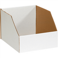 "10"" x 12"" x 8""  Jumbo Open Top Bin Boxes - Fits 12"" Shelf"