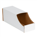 "4"" x 12"" x 4 1/2""  Stackable Bin Boxes - Fits 12"" Shelf"