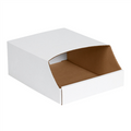 "9"" x 12"" x 4 1/2""  Stackable Bin Boxes - Fits 12"" Shelf"