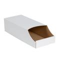 "7"" x 18"" x 4 1/2""  Stackable Bin Boxes - Fits 18"" Shelf"
