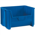 "19 7/8"" x 15 1/4"" x 12 7/16"" Blue  Giant Stackable Bins"