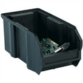"10 7/8"" x 5 1/2"" x 5"" Black  Conductive Bins"