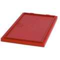 """20 7/8"""" x 18 1/4"""" Red Stack & Nest Lids"""