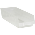 "17 7/8"" x 6 5/8"" x 4"" Clear  Plastic Shelf Bin Boxes"