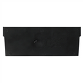 "7"" x 3""  Plastic Shelf Bin Dividers"