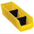"9 7/8"" x 3"" Plastic Shelf Bin Dividers"