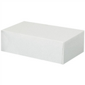 "5 3/4"" x 9 1/2"" x 3""  Stationery Folding Cartons 200/Case"