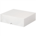 "8 5/8"" x 9 1/2"" x 3""  Stationery Folding Cartons 200/Case"
