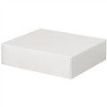 "11 1/8"" x 9 1/2"" x 3""  Stationery Folding Cartons 150/Case"