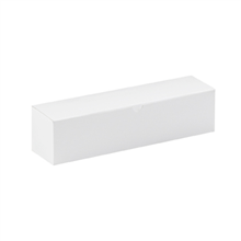 "12"" x 3"" x 3"" White  Gift Boxes 100/Case"