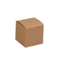 "2"" x 2"" x 2"" Kraft  Gift Boxes 200/Case"