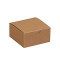 "4"" x 4"" x 2"" Kraft  Gift Boxes 100/Case"