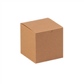 "4"" x 4"" x 4"" Kraft  Gift Boxes 100/Case"
