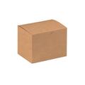 "6"" x 4 1/2"" x 4 1/2"" Kraft  Gift Boxes 100/Case"