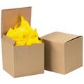 "6"" x 6"" x 6"" Kraft  Gift Boxes 100/Case"