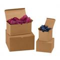 "7"" x 7"" x 7"" Kraft  Gift Boxes 100/Case"